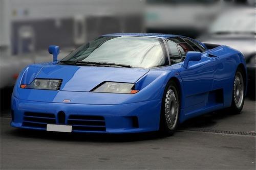 Фото автомобиля Bugatti EB 110 1 поколение, ракурс: 45