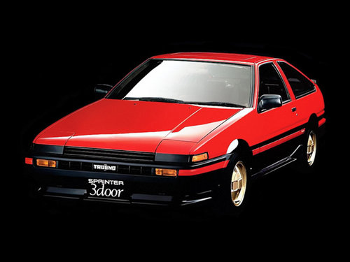 Фото автомобиля Toyota Sprinter Trueno AE85/AE86, ракурс: 45