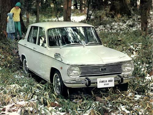 Фото автомобиля Mazda Familia 1 поколение [рестайлинг], ракурс: 315