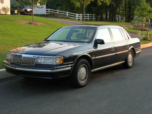 Фото автомобиля Lincoln Continental 8 поколение, ракурс: 45