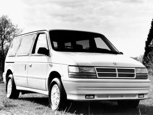 Фото автомобиля Dodge Caravan 2 поколение, ракурс: 315