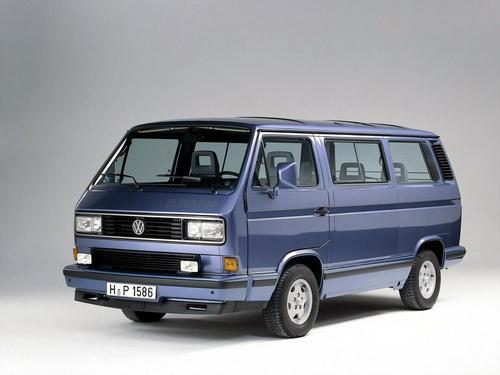 Фото автомобиля Volkswagen Multivan T3, ракурс: 45