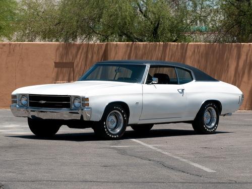 Фото автомобиля Chevrolet Chevelle 2 поколение [3-й рестайлинг], ракурс: 45