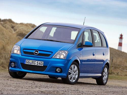 Фото автомобиля Opel Meriva 1 поколение [рестайлинг], ракурс: 45