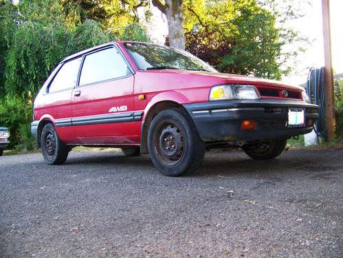 Фото автомобиля Subaru Justy 1 (KAD) [рестайлинг], ракурс: 45