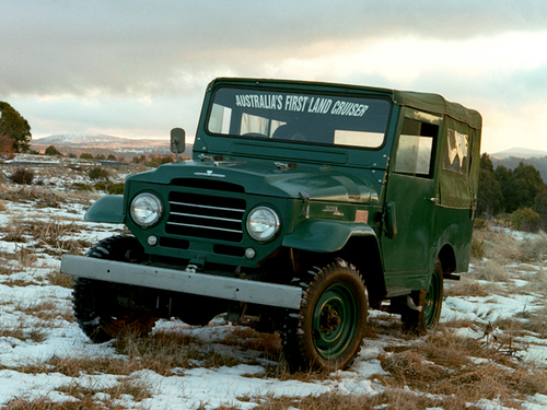 Фото автомобиля Toyota Land Cruiser J20, ракурс: 45