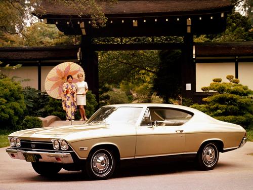 Фото автомобиля Chevrolet Chevelle 2 поколение, ракурс: 45