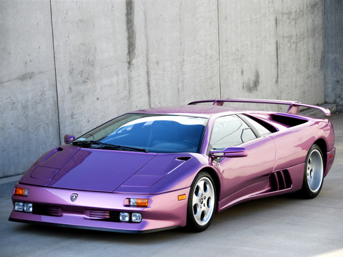 Фото автомобиля Lamborghini Diablo 1 поколение, ракурс: 45
