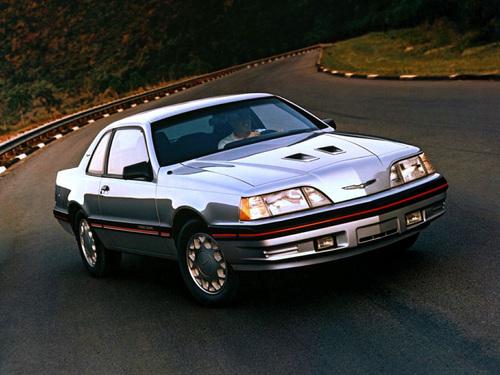Фото автомобиля Ford Thunderbird 9 поколение [рестайлинг], ракурс: 45