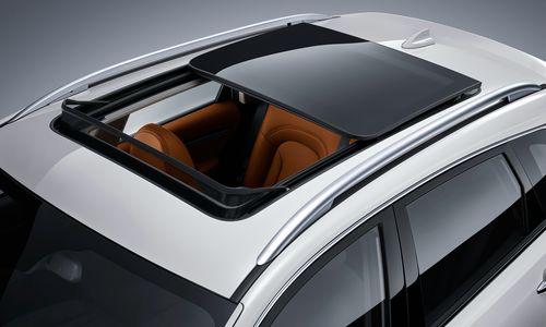 Фото автомобиля Zotye T600 1 поколение, ракурс: сверху цвет: белый