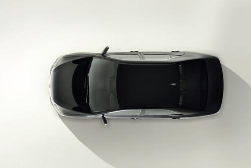 Фото автомобиля Toyota Camry XV50 [рестайлинг], ракурс: сверху цвет: черный