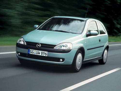 Фото автомобиля Opel Corsa C, ракурс: 45
