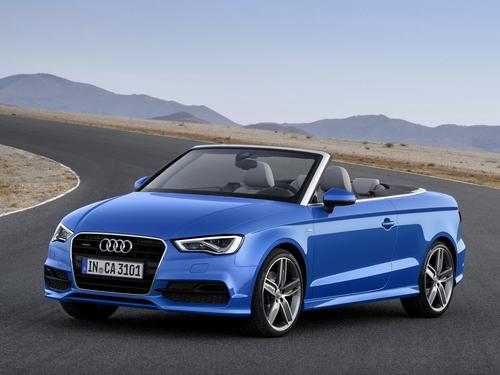 Фото автомобиля Audi A3 8V, ракурс: 45 цвет: синий