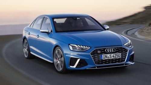 Фото автомобиля Audi S4 B9 [рестайлинг], ракурс: 315 цвет: синий