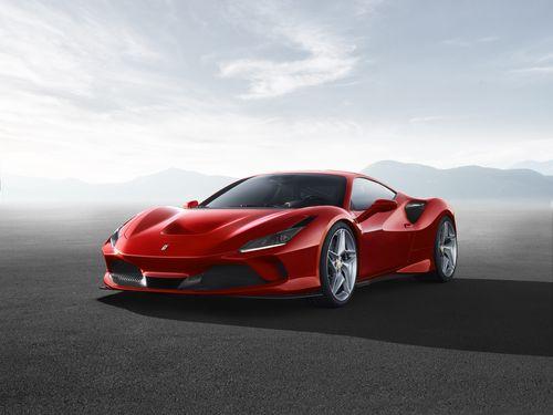 Фото автомобиля Ferrari F8 Tributo 1 поколение, ракурс: 45 цвет: красный