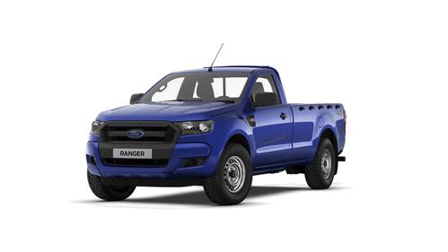 Фото автомобиля Ford Ranger 4 поколение [рестайлинг], ракурс: 45 цвет: синий