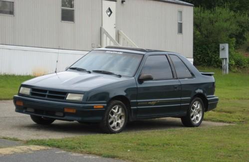 Фото автомобиля Dodge Shadow 1 поколение, ракурс: 45