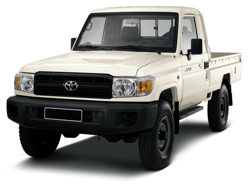 Фото автомобиля Toyota Land Cruiser J70 [3-й рестайлинг], ракурс: 45