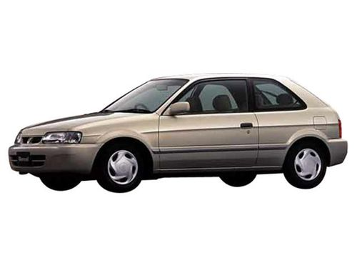 Фото автомобиля Toyota Tercel L50, ракурс: 45 - рендер цвет: бежевый
