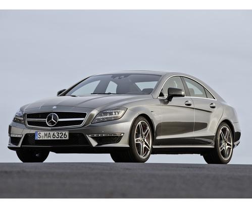 Фото автомобиля Mercedes-Benz CLS-Класс C218/X218, ракурс: 45 цвет: серый