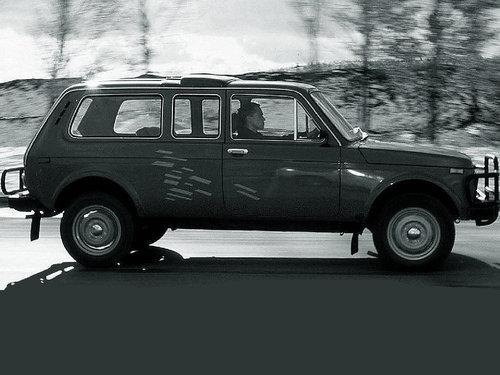 Фото автомобиля ВАЗ (Lada) 4x4 1 поколение [рестайлинг], ракурс: 270