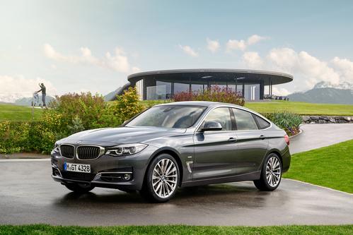 Фото автомобиля BMW 3 серия F30/F31/F34 [рестайлинг], ракурс: 45 цвет: серый