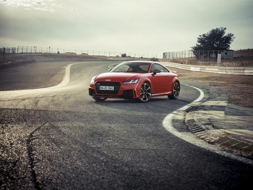 Фото автомобиля Audi TT 8S, ракурс: 45 цвет: красный