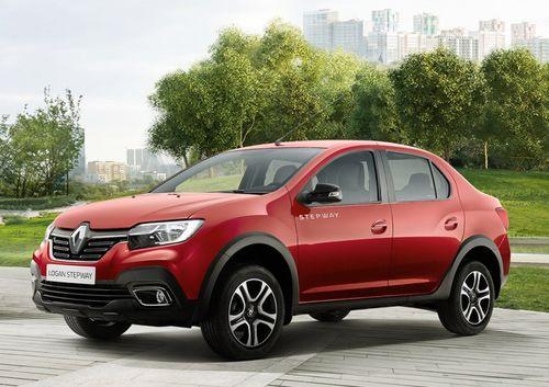 Фото автомобиля Renault Logan 2 поколение [рестайлинг], ракурс: 45 цвет: красный