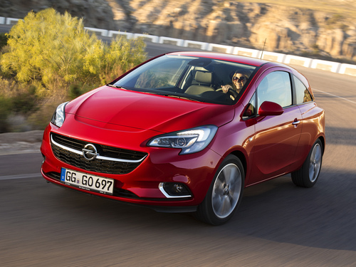 Фото автомобиля Opel Corsa E, ракурс: 45