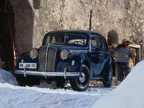 Фото автомобиля Opel Admiral 1 поколение, ракурс: 45