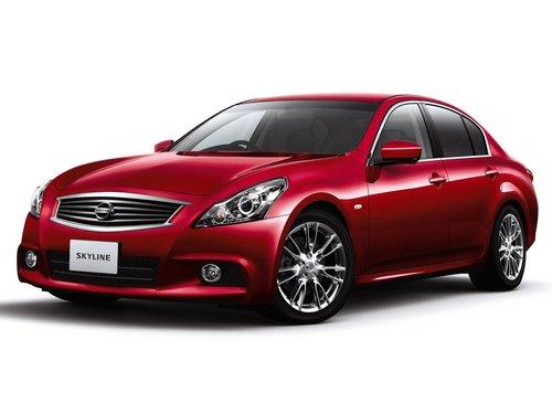 Фото автомобиля Nissan Skyline V36 [рестайлинг], ракурс: 45