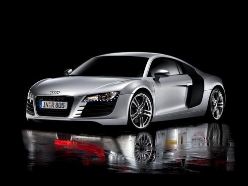 Фото автомобиля Audi R8 1 поколение, ракурс: 45