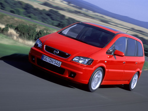 Фото автомобиля Opel Zafira A [рестайлинг], ракурс: 45