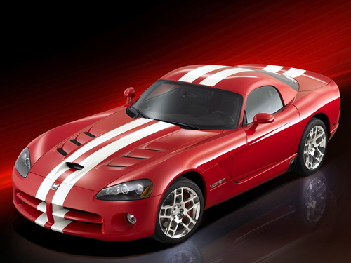 Фото автомобиля Dodge Viper 4 поколение, ракурс: 45