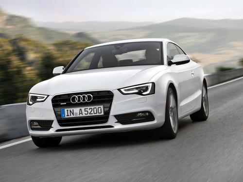Фото автомобиля Audi A5 8T [рестайлинг], ракурс: 45 цвет: белый