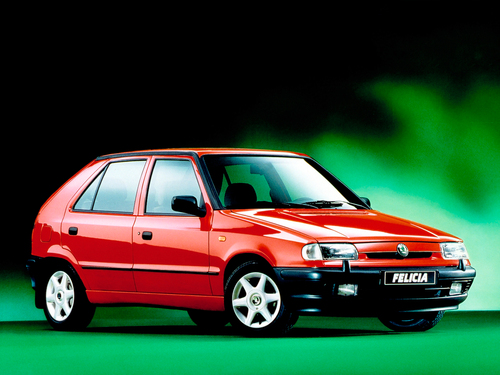 Фото автомобиля Skoda Felicia 1 поколение, ракурс: 315
