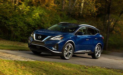 Фото автомобиля Nissan Murano Z52 [рестайлинг], ракурс: 45 цвет: синий