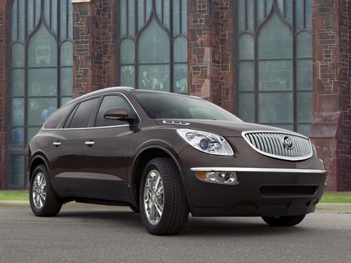 Фото автомобиля Buick Enclave 1 поколение, ракурс: 315
