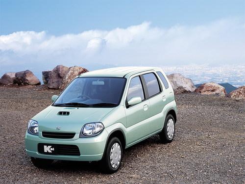 Фото автомобиля Suzuki Kei HN, ракурс: 45