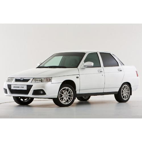 Фото автомобиля ВАЗ (Lada) 2110 1 поколение [рестайлинг], ракурс: 45 цвет: белый