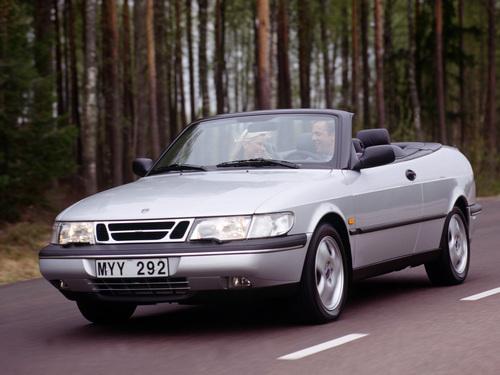Фото автомобиля Saab 900 2 поколение, ракурс: 45