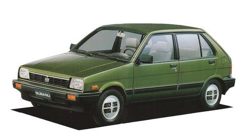 Фото автомобиля Subaru Justy 1 (KAD), ракурс: 45