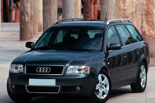 Фото автомобиля Audi A6 4B/C5, ракурс: 45 цвет: черный