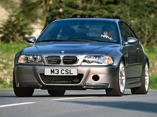 Фото автомобиля BMW M3 E46, ракурс: 45
