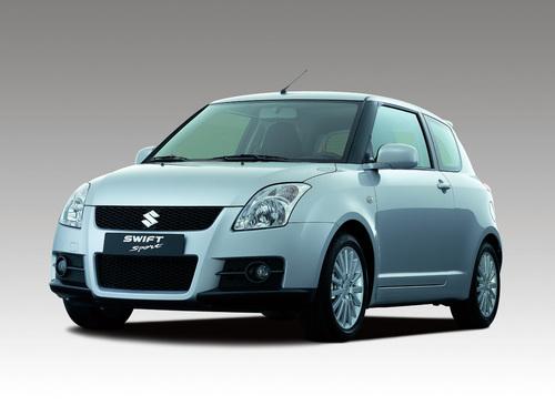 Фото автомобиля Suzuki Swift 3 поколение, ракурс: 45