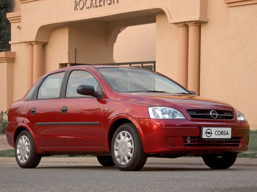Фото автомобиля Opel Corsa C [рестайлинг], ракурс: 135