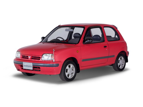 Фото автомобиля Nissan March K11, ракурс: 45