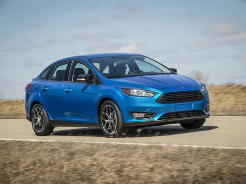Фото автомобиля Ford Focus 3 поколение [рестайлинг], ракурс: 315 цвет: синий