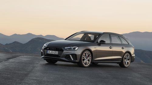 Фото автомобиля Audi A4 B9 [рестайлинг], ракурс: 45 цвет: коричневый