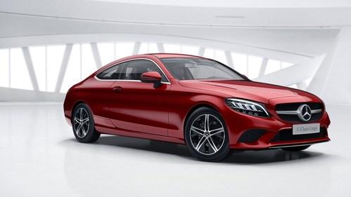 Фото автомобиля Mercedes-Benz C-Класс W205/S205/C205 [рестайлинг], ракурс: 315 цвет: красный
